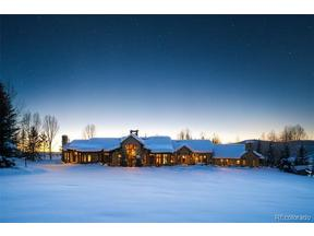 Property for sale at 33855 Pine Drop Drive, Steamboat Springs,  Colorado 80487