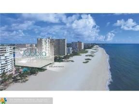 Property for sale at 730 N Ocean Blvd Unit: 502, Pompano Beach,  Florida 33062