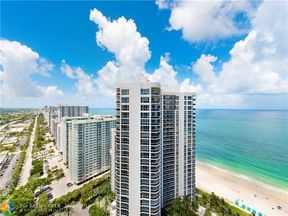 Property for sale at 3100 N Ocean Blvd Unit: PH2709, Fort Lauderdale,  FL 33308
