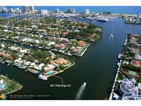 Property for sale at 851 Flamingo Dr, Fort Lauderdale,  Florida 33301