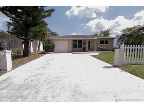 Property for sale at 1721 N 16th Ct, Hollywood,  Florida 33020