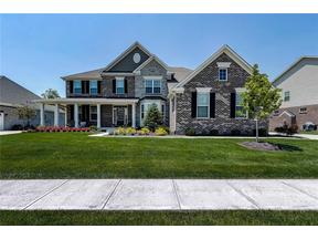 Property for sale at 2492 Still Creek Drive, Zionsville,  Indiana 46077