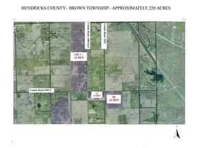 Property for sale at 10182 North County Road 1000 E Road, Brownsburg,  Indiana 46112