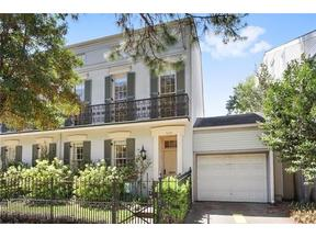 Property for sale at 1604 Third Street Unit: 1604, New Orleans,  LA 70130