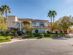 Property for sale at 10033 Hidden Knoll Court, Las Vegas,  NV 89117