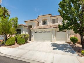 Property for sale at 1816 Shifting Winds Street, Las Vegas,  NV 89117