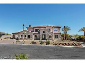 Property for sale at 6272 Magnifico Circle, Las Vegas,  Nevada 89149