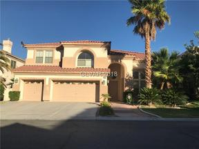 Property for sale at 41 Chateau Whistler Court, Las Vegas,  NV 89148