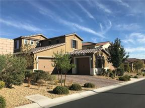 Property for sale at 714 Catalina Aisle Street, Las Vegas,  NV 89138