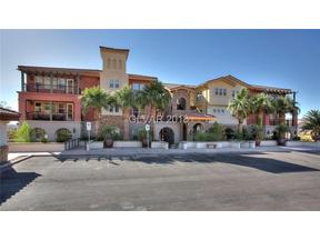 Property for sale at 64 Strada Principale Unit: 105, Henderson,  NV 89011