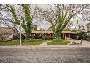 Property for sale at 2607 Burton Avenue, Las Vegas,  NV 89102