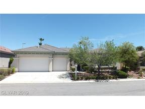 Property for sale at 3472 French Daisy Street, Las Vegas,  Nevada 89135