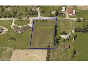 Property for sale at S/L 48 Paradise Rd, Seville,  OH 44273