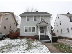 Property for sale at 2184 Lewis Dr, Lakewood,  OH 44107