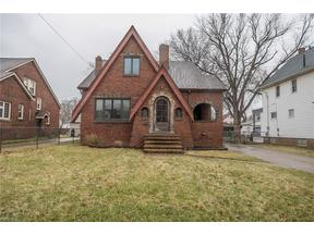 Property for sale at 16929 Woodbury Avenue, Cleveland,  Ohio 44135
