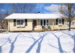 Property for sale at 483 Holly Dr, Berea,  Ohio 44017