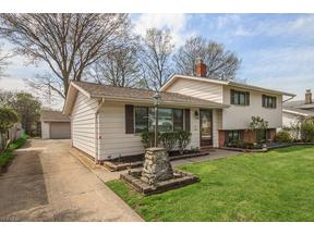 Property for sale at 1174 Giesse Drive, Mayfield Heights,  Ohio 44124