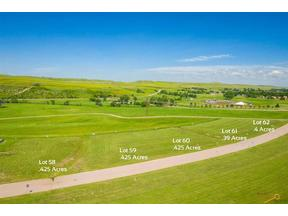 Property for sale at TBD Lot 58 ANNA CT, Rapid City,  SD 57702