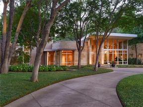 Property for sale at 5006 Shadywood Lane, Dallas,  TX 75209
